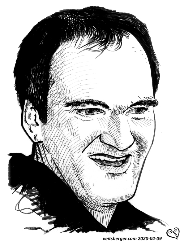 Quentin Tarantino par veitsberger